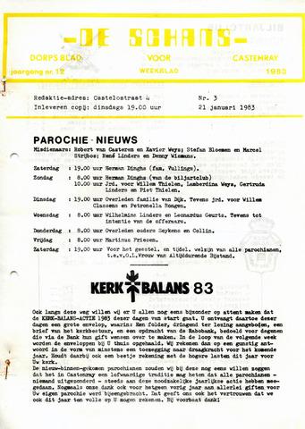 Castenrays dorpsblad De Schans 1983-01-21