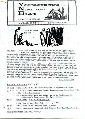 Ysselsteyns Nieuwsblad 1989-12-29