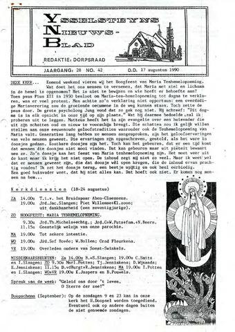 Ysselsteyns Nieuwsblad 1990-08-17