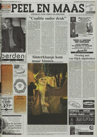Peel en Maas 2000-11-16