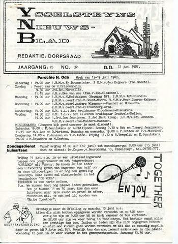 Ysselsteyns Nieuwsblad 1987-06-12