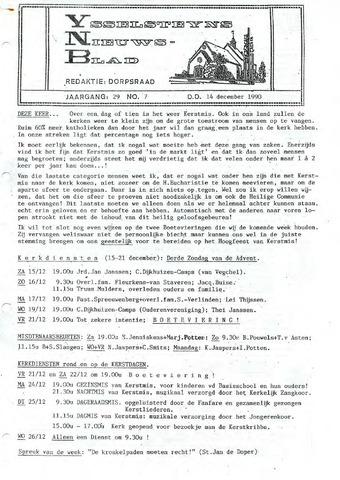Ysselsteyns Nieuwsblad 1990-12-14