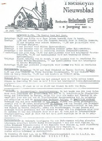 Ysselsteyns Nieuwsblad 1977-06-24