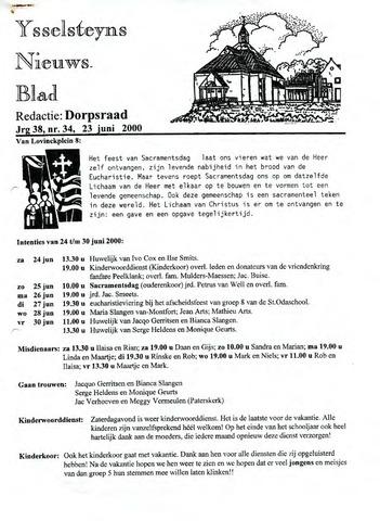 Ysselsteyns Nieuwsblad 2000-06-23