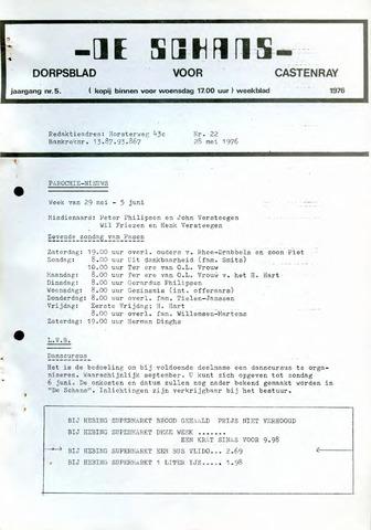 Castenrays dorpsblad De Schans 1976-05-28