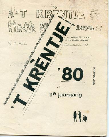 Oirlo's dorpsblad 't Krèntje 1979-11-22
