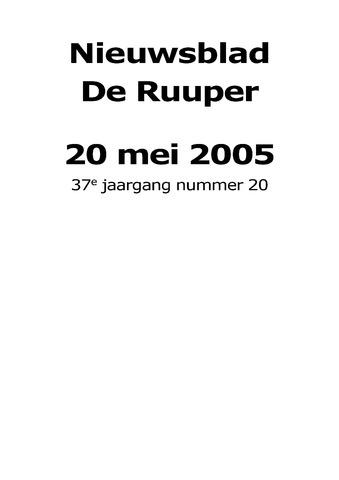 Dorpsblad Leunen-Veulen-Heide 2005-05-20