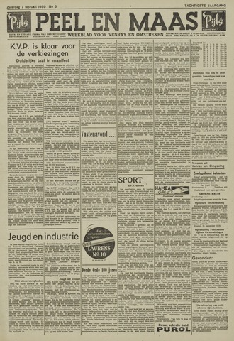Peel en Maas 1959-02-07
