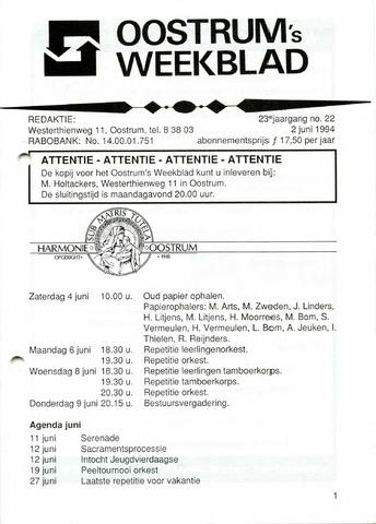 Oostrum's Weekblad 1994-06-02