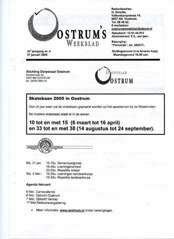 Oostrum's Weekblad 2005-01-27
