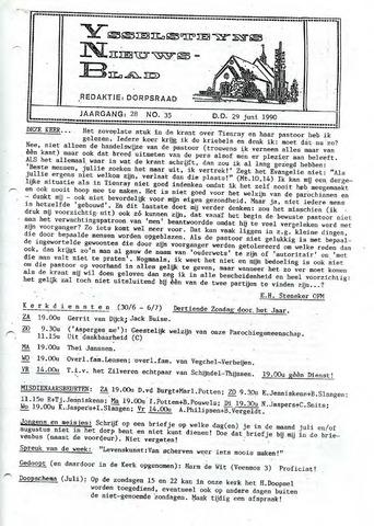 Ysselsteyns Nieuwsblad 1990-06-29