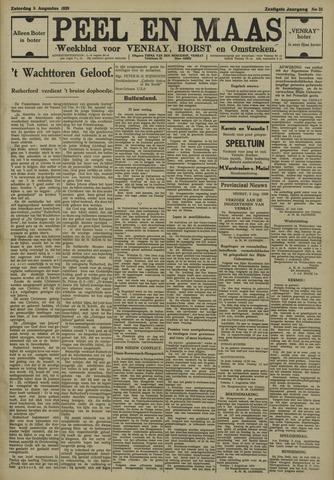 Peel en Maas 1939-08-05