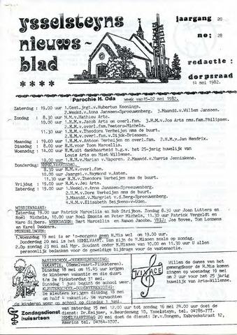 Ysselsteyns Nieuwsblad 1982-05-14