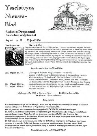 Ysselsteyns Nieuwsblad 2006-06-23