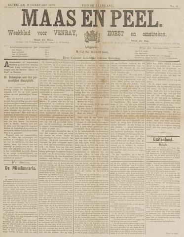 Peel en Maas 1889-02-09
