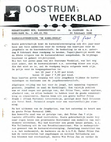 Oostrum's Weekblad 1980-02-07