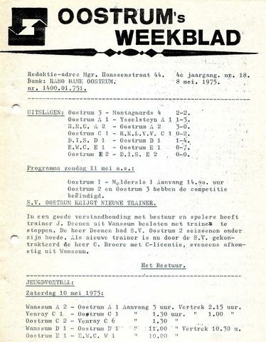 Oostrum's Weekblad 1975-05-08
