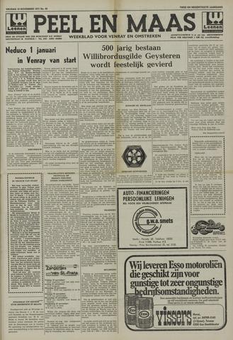 Peel en Maas 1971-11-19