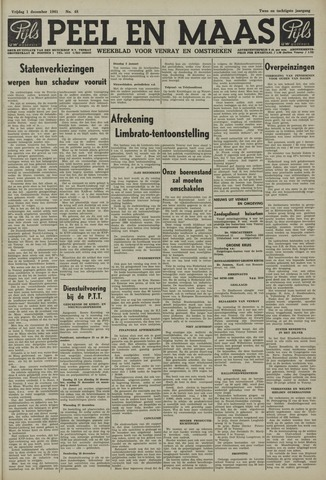 Peel en Maas 1961-12-01