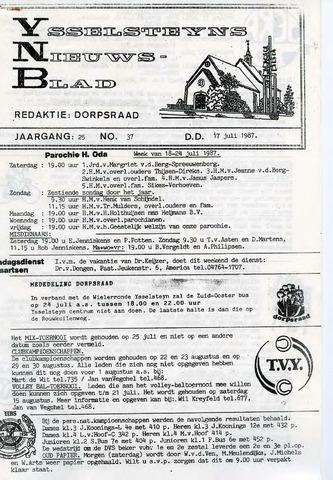 Ysselsteyns Nieuwsblad 1987-07-17