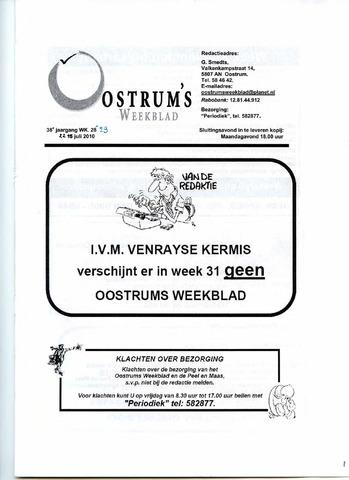 Oostrum's Weekblad 2010-07-22