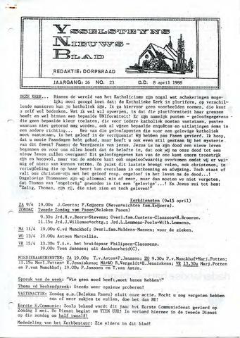 Ysselsteyns Nieuwsblad 1988-04-08