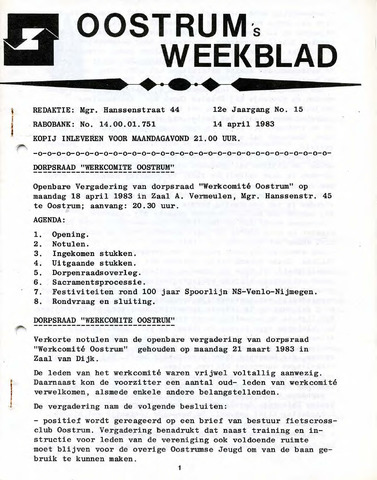 Oostrum's Weekblad 1983-04-14