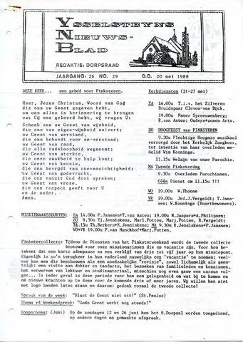 Ysselsteyns Nieuwsblad 1988-05-20