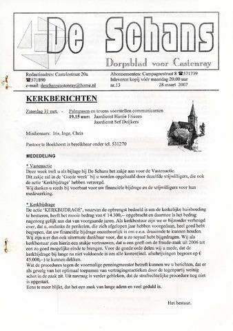 Castenrays dorpsblad De Schans 2007-03-28