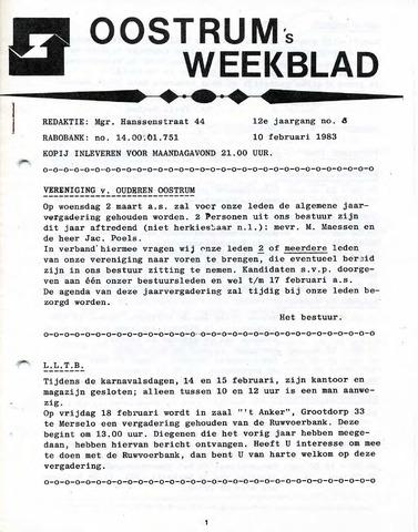 Oostrum's Weekblad 1983-02-10