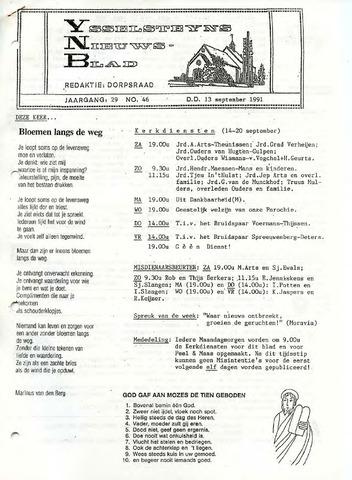 Ysselsteyns Nieuwsblad 1991-09-13