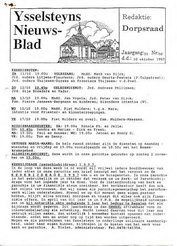 Ysselsteyns Nieuwsblad 1997-10-10