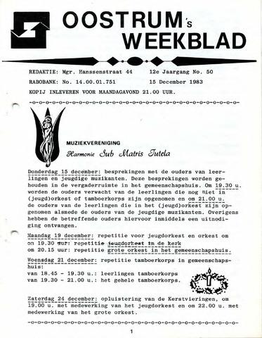 Oostrum's Weekblad 1983-12-15