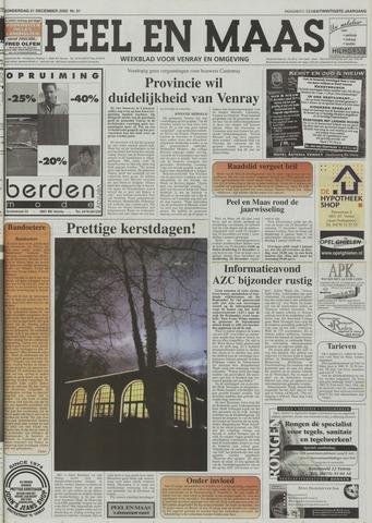 Peel en Maas 2000-12-21