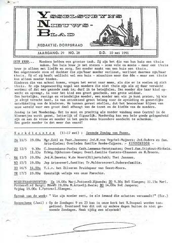 Ysselsteyns Nieuwsblad 1991-05-10