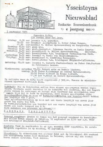 Ysselsteyns Nieuwsblad 1975-09-05
