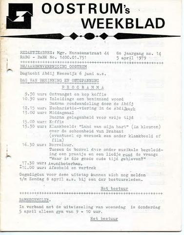 Oostrum's Weekblad 1979-04-05