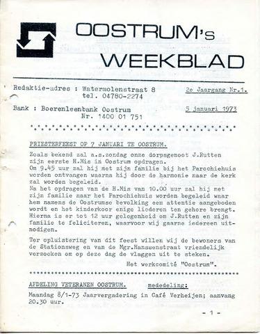 Oostrum's Weekblad 1973