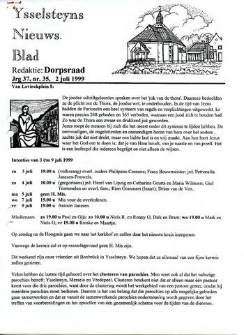 Ysselsteyns Nieuwsblad 1999-07-02