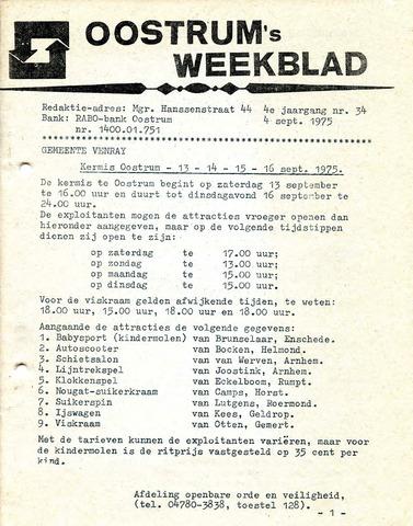 Oostrum's Weekblad 1975-09-04
