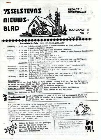 Ysselsteyns Nieuwsblad 1985-06-21