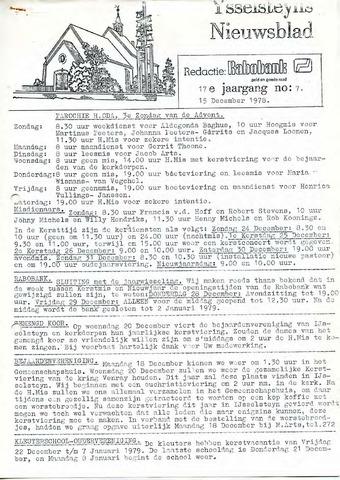 Ysselsteyns Nieuwsblad 1978-12-15