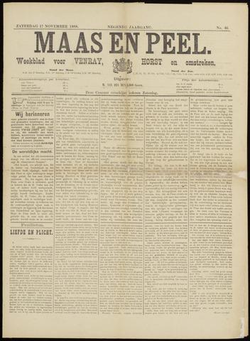 Peel en Maas 1888-11-17
