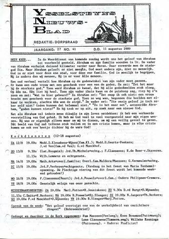 Ysselsteyns Nieuwsblad 1989-08-11