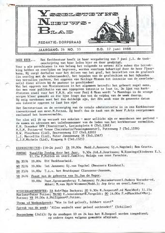 Ysselsteyns Nieuwsblad 1988-06-17