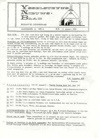 Ysselsteyns Nieuwsblad 1993-01-15