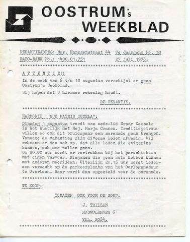 Oostrum's Weekblad 1978-07-27