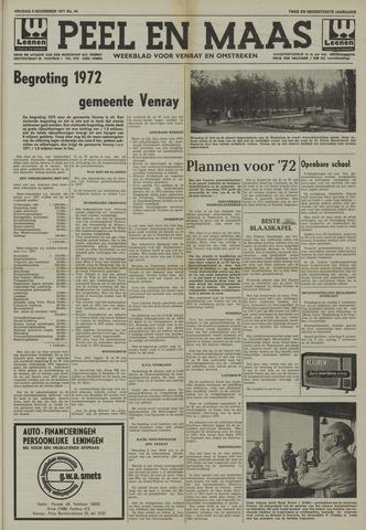 Peel en Maas 1971-11-05