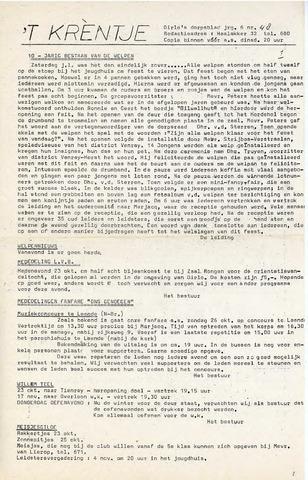 Oirlo's dorpsblad 't Krèntje 1975-10-22