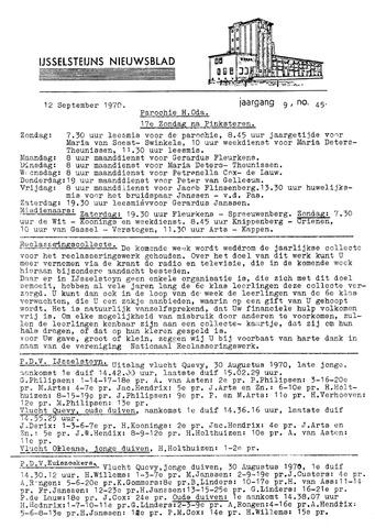 Ysselsteyns Nieuwsblad 1970-09-12